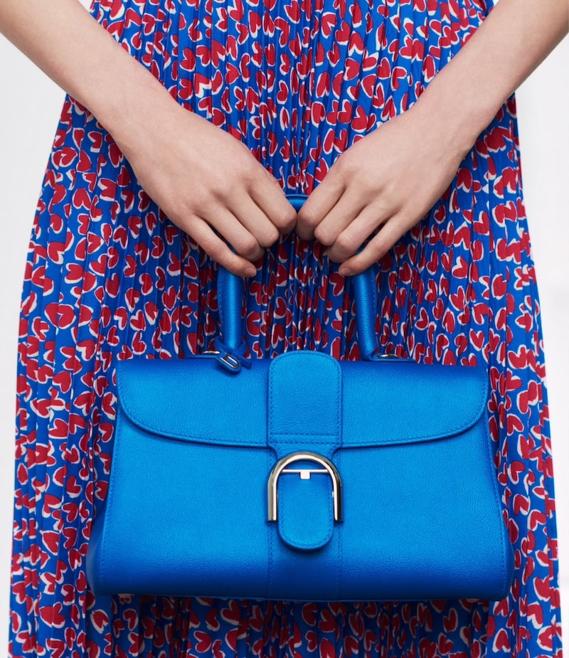 Delvaux Brillant PM East:West Leather Satchel
