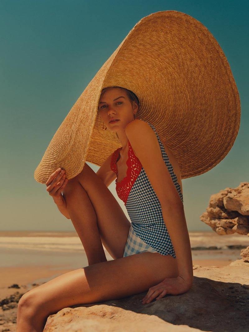 Marysia Wainscott Patchwork Swimsuit