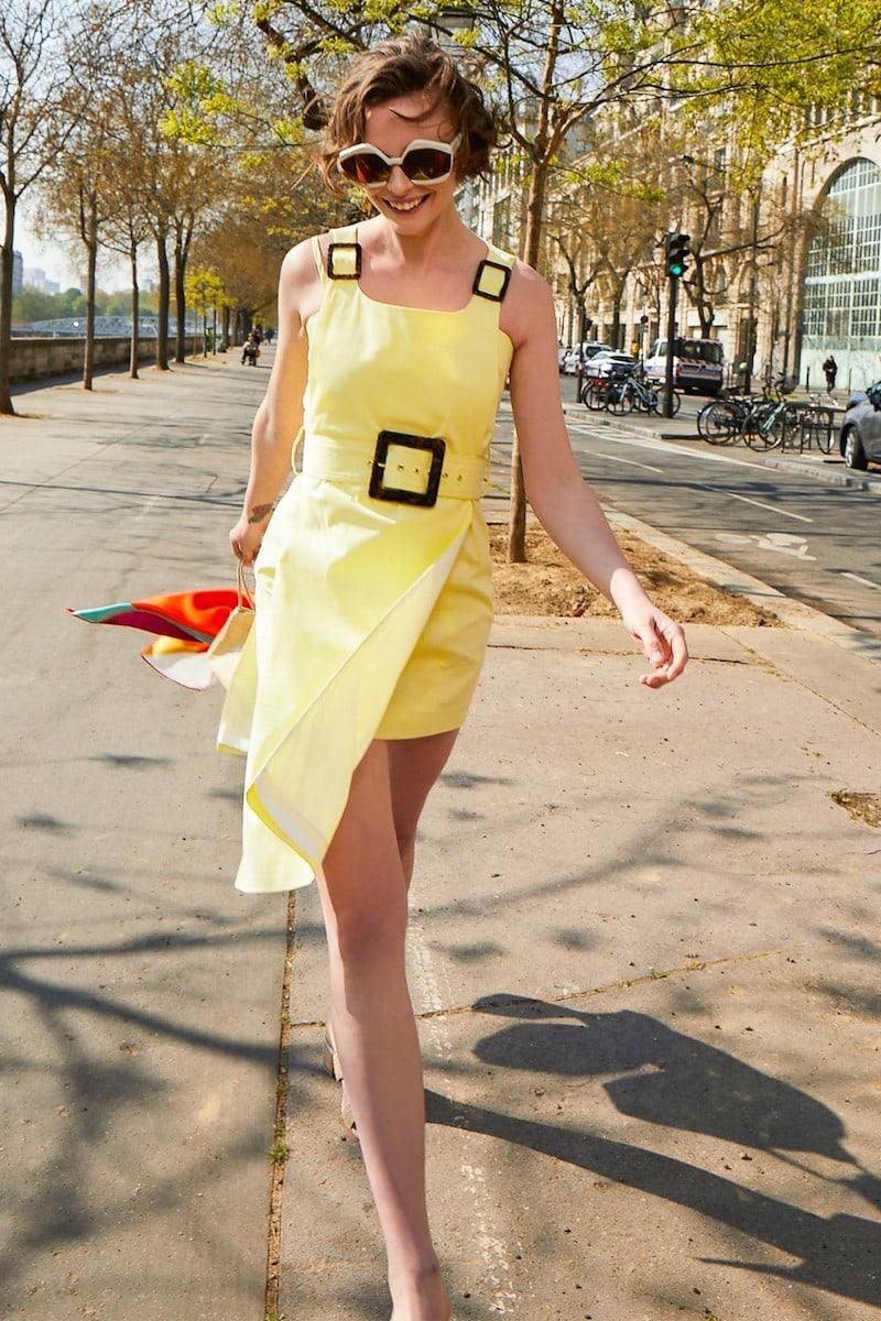 Staud Jack Mini Dress