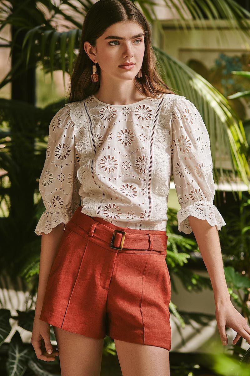 Veronica Beard Gale Blouse