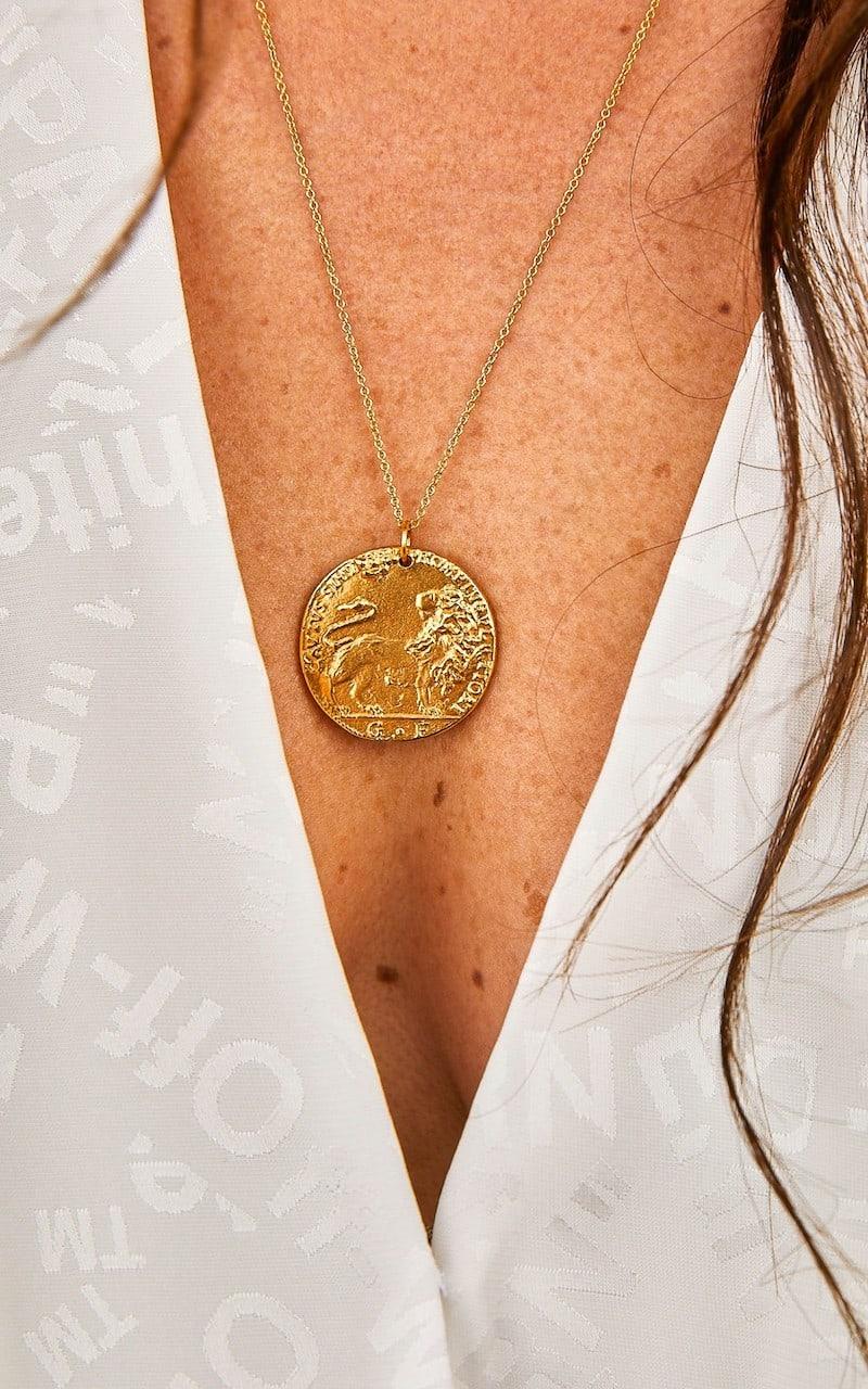 Alighieri Il Leone Medallion Necklace