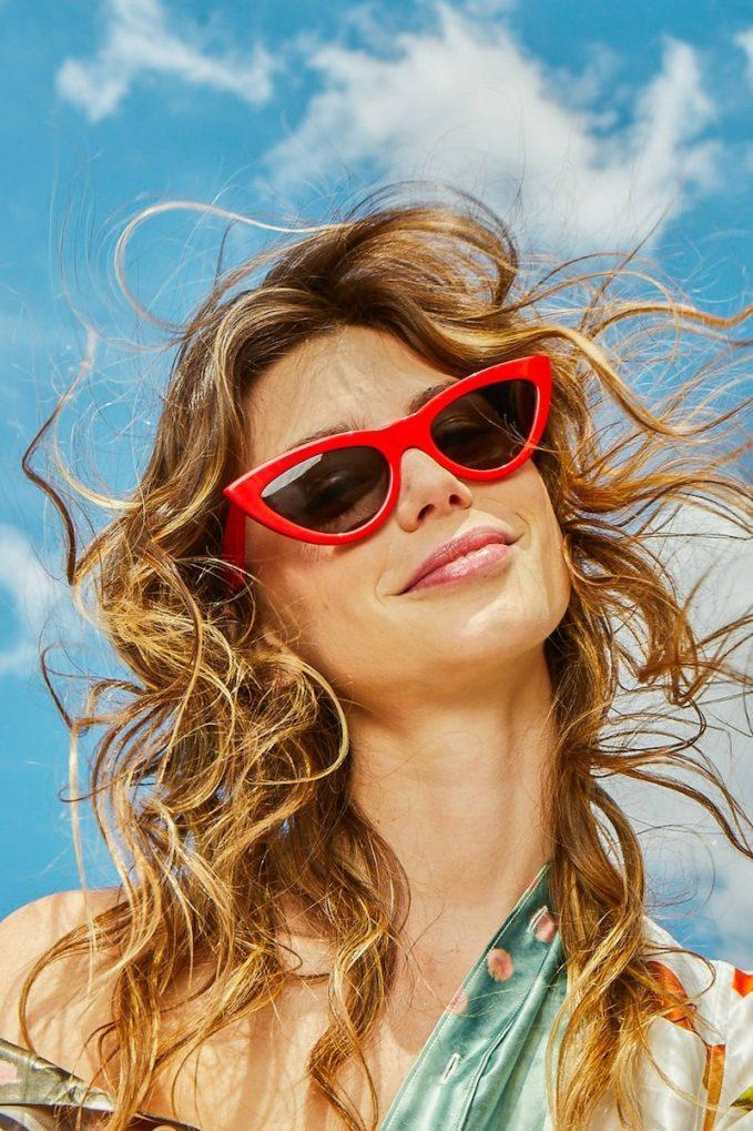 Celine Cat Eye Sunglasses In Acetate