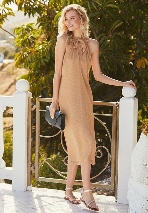 L'Academie The Annick Midi Dress