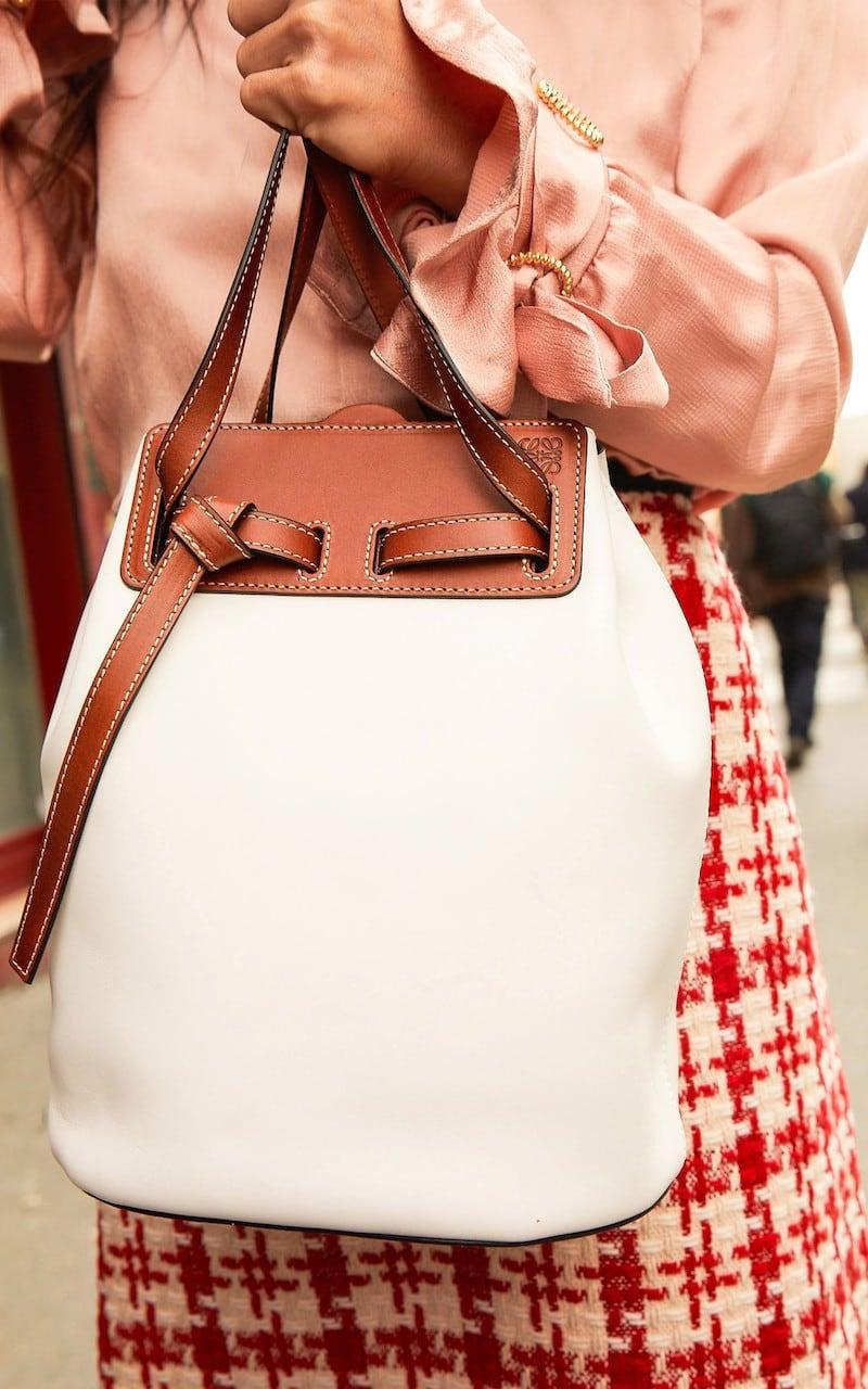 Loewe Lazo Bucket Bag