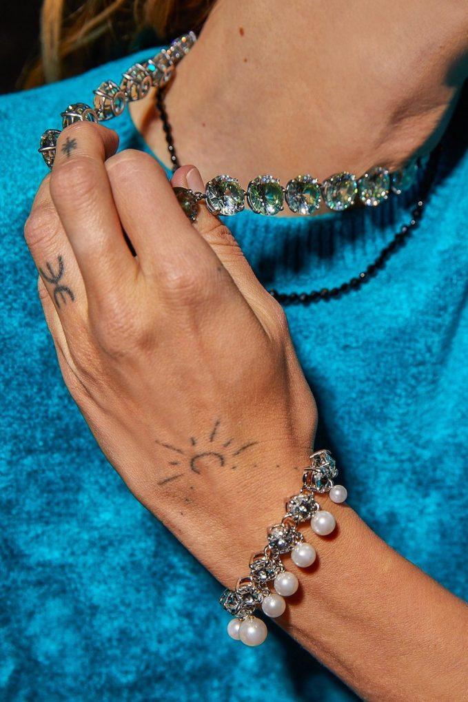 Miu Miu Crystal Bracelet