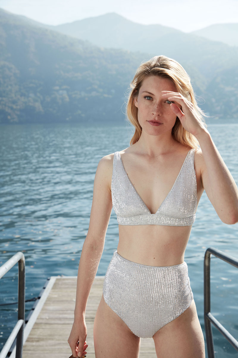 Oseree Sequined Bikini