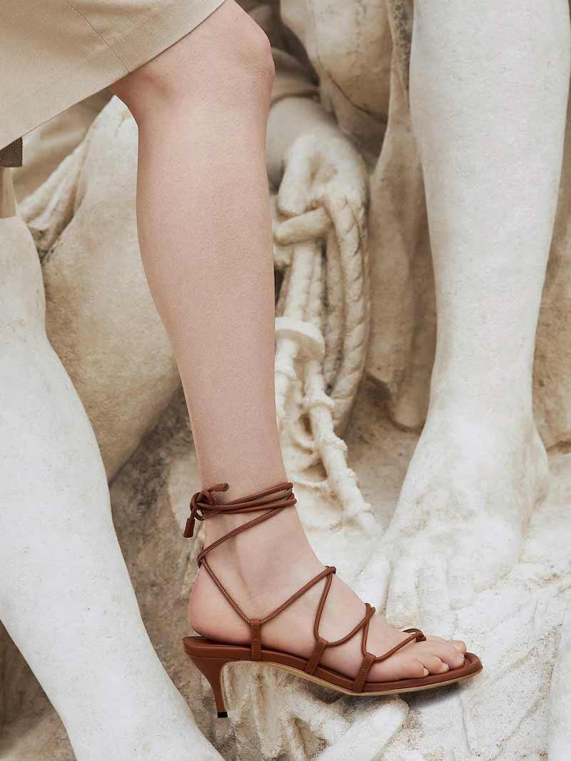 Paul Andrew Wrap It Up 55mm Sandals