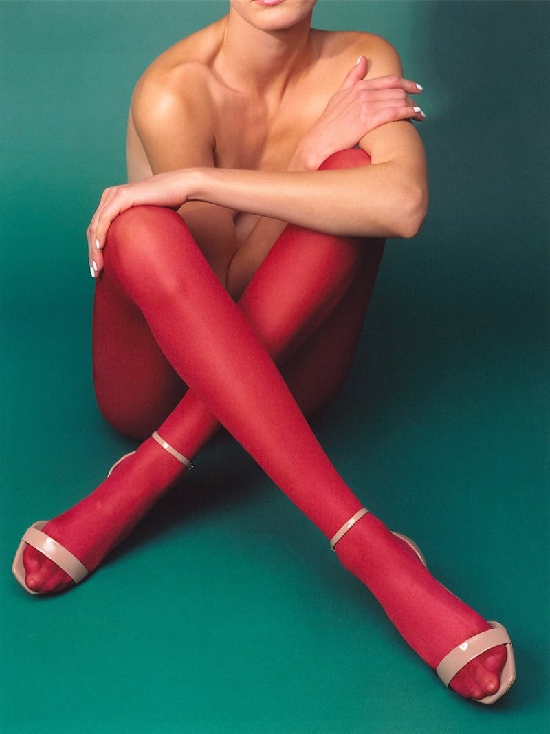 Saint Laurent 105mm Amber Patent Leather Sandals