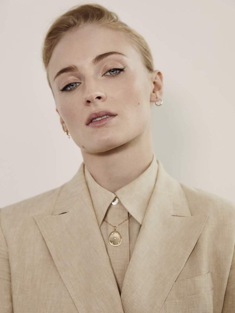 Sophie Bille Brahe Daisy Grand 18-Karat Gold Diamond Earring
