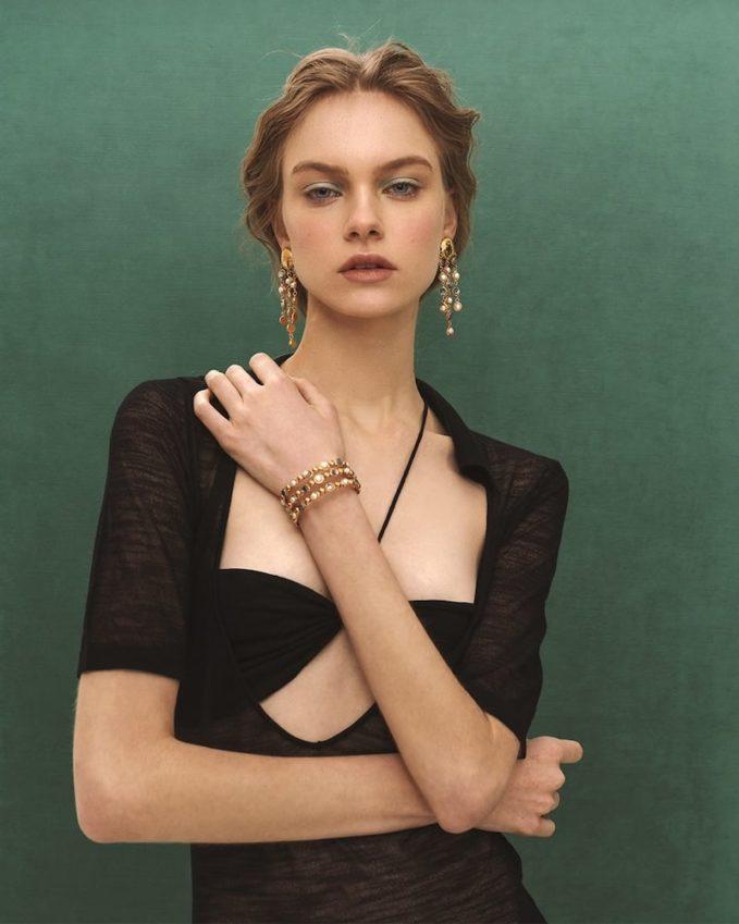 Sylvia Toledano Talitha Cuff Bracelet