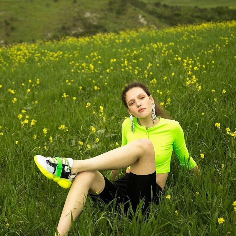 Vivetta Fitted Stretch Lycra Shorts