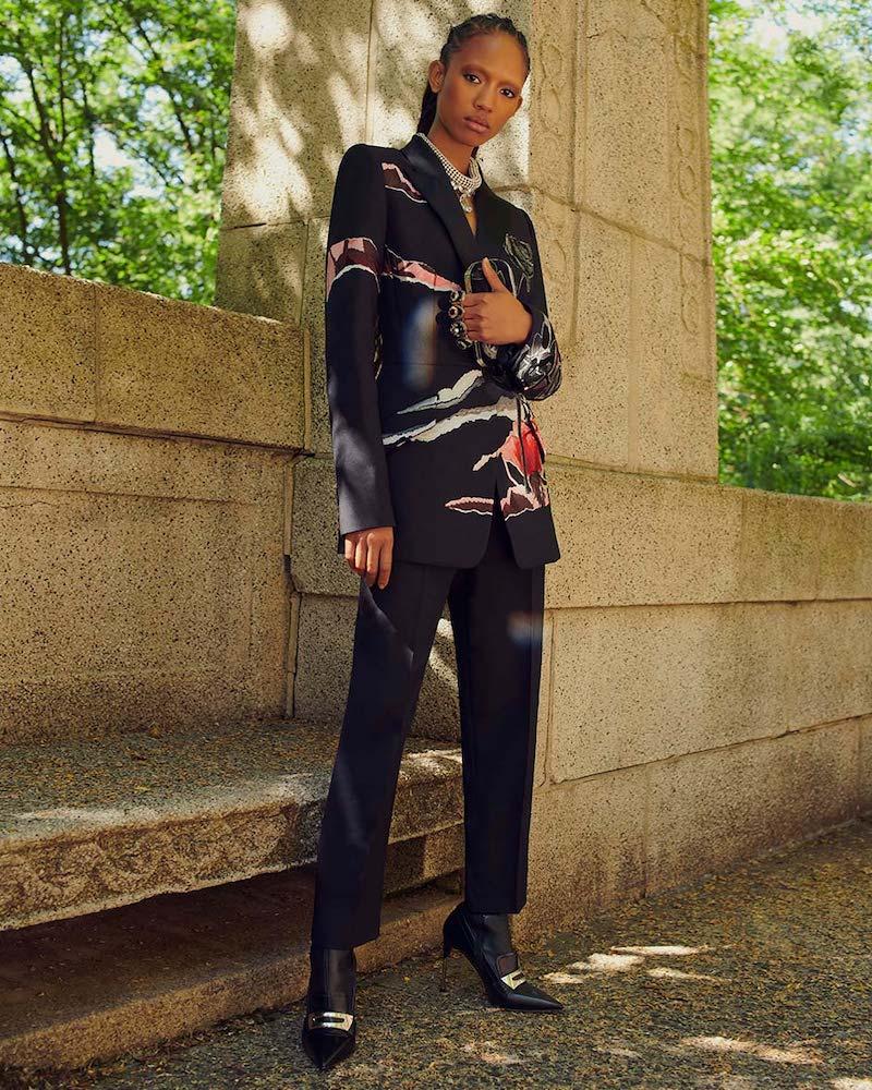 Alexander McQueen Stretch-Leather Sock Booties