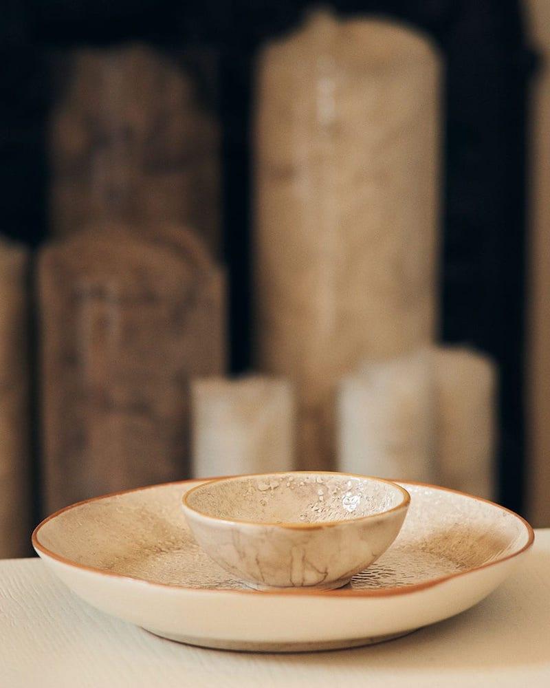 Brunello Cucinelli Ceramic Bowl and Tumbler Set