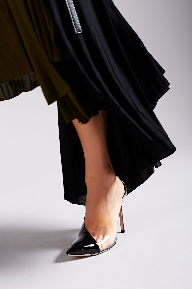 Gianvito Rossi Patent Leather & PVC Pumps