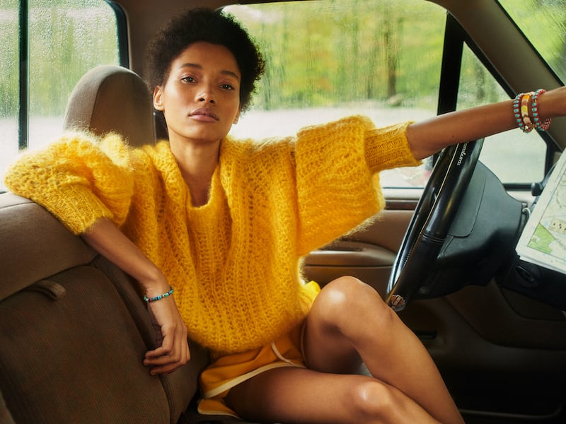 Isabel Marant Inko Mohair-Blend Sweater