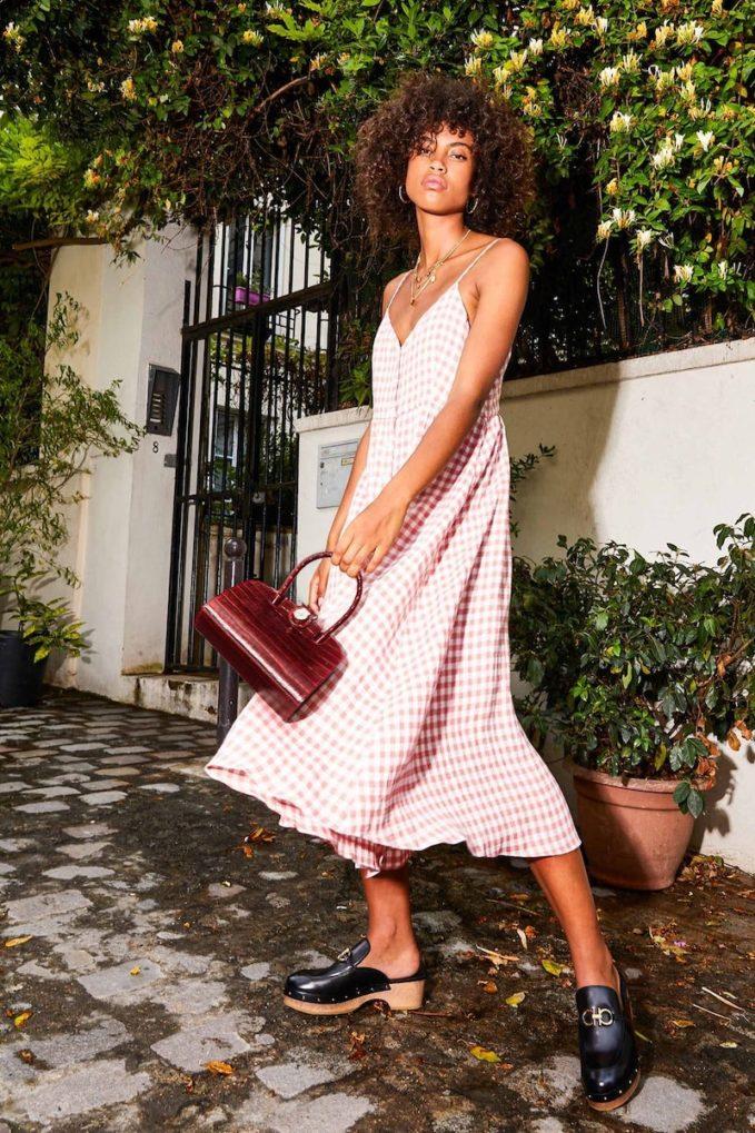 Mansur Gavriel Linen Midi-dress