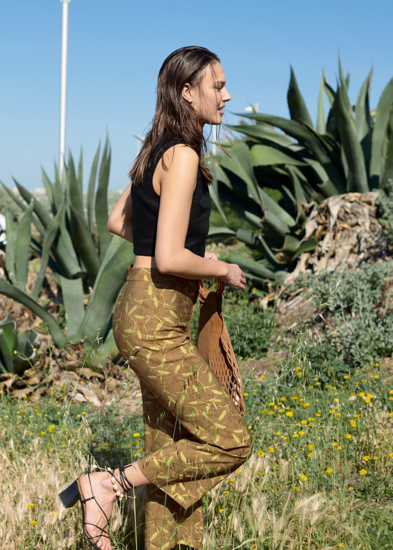 & Other Stories High Rise Kick Flare Pants