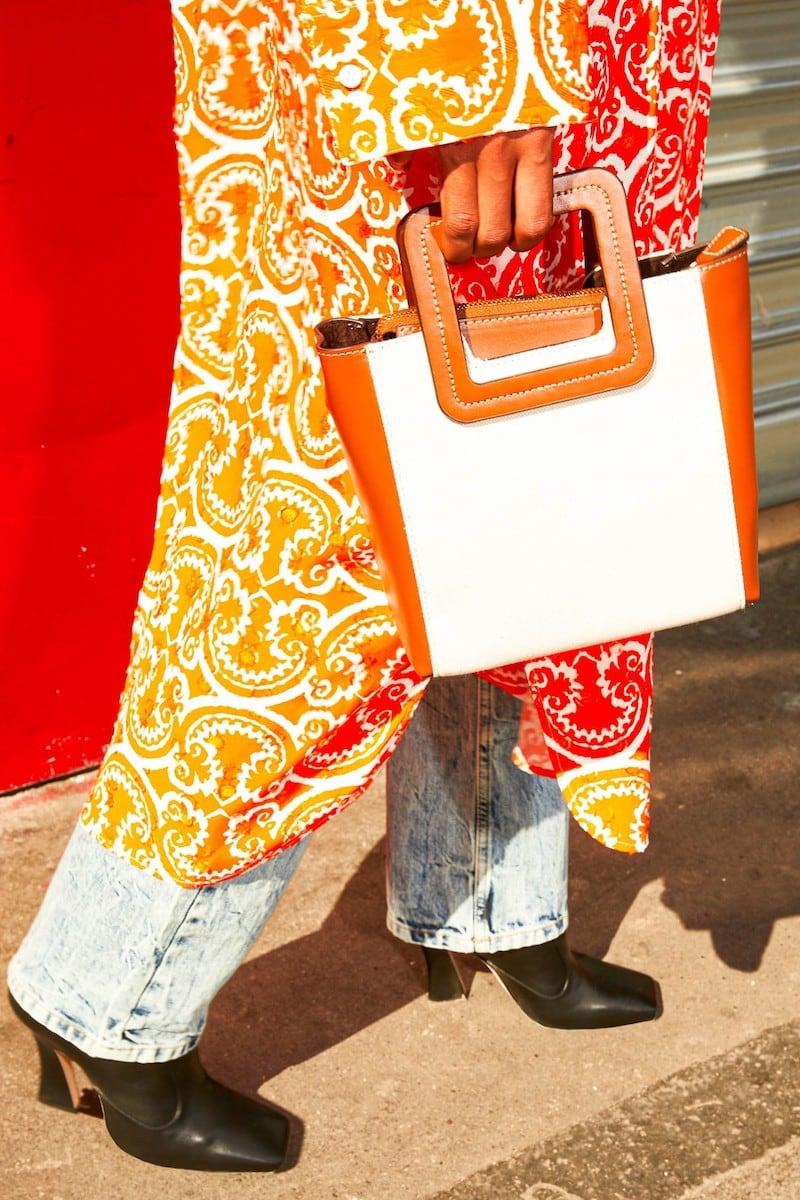 Staud Shirley Mini Tote Bag