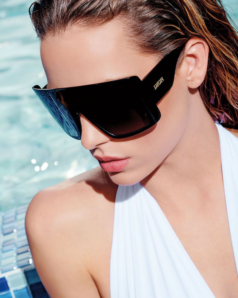 Dior Solight1 Gradient Shield Sunglasses