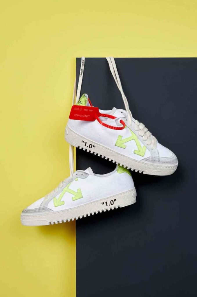 Exclusive to Mytheresa Off-White Arrow 2.0 Leather Sneakers