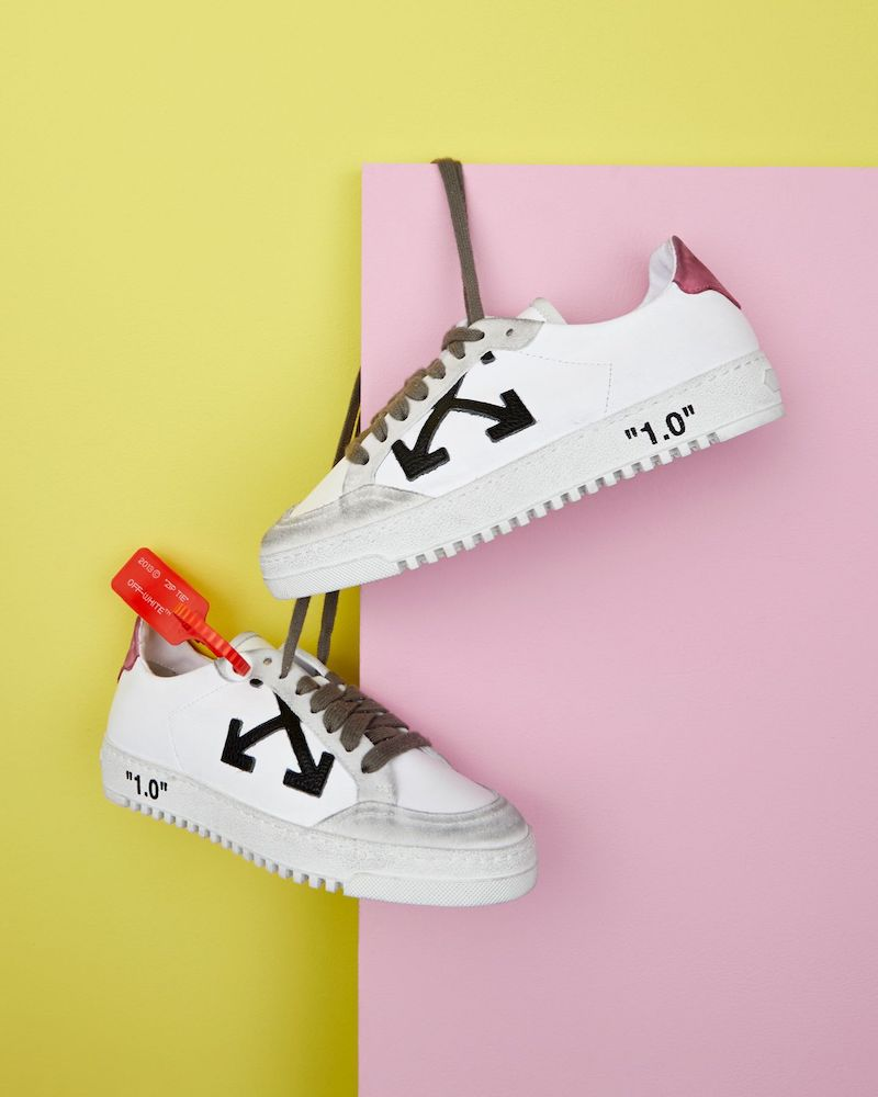 Exclusive to Mytheresa Off-White Arrow 2.0 Leather Sneakers in Black