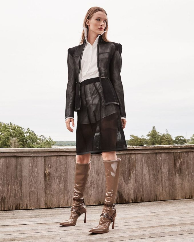 Fendi Neoprene To-the-Knee Boots 1