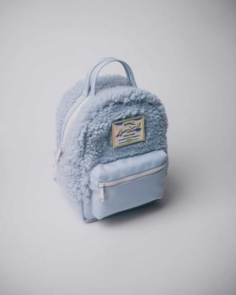 Herschel Supply Co. Mini Nova Fleece & Canvas Backpack
