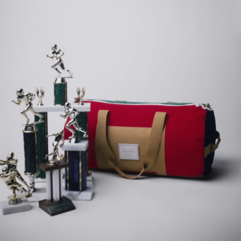 Herschel Supply Co. Sutton Colorblock Mid-Volume Duffle Bag