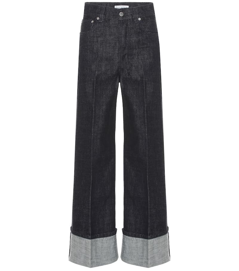 JW Anderson High-Rise Wide-Leg Jeans