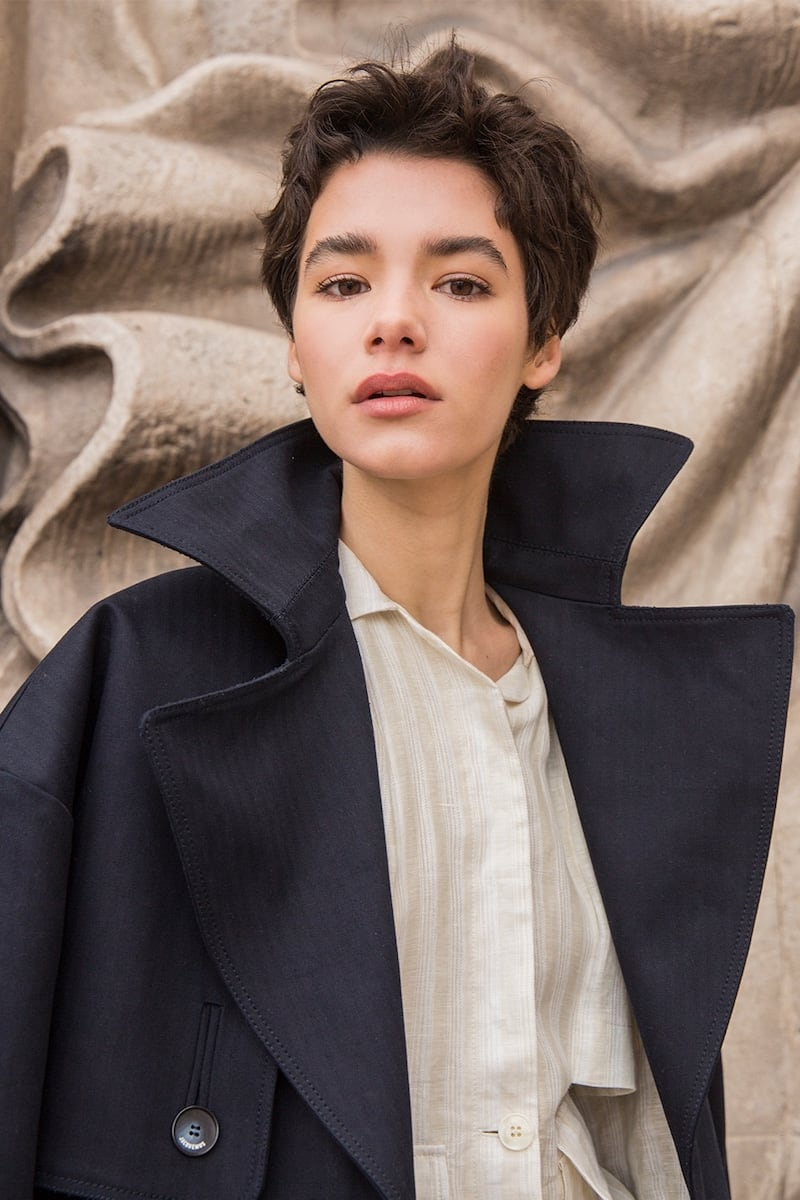 Jacquemus Heavy Cotton Canvas Trench Coat