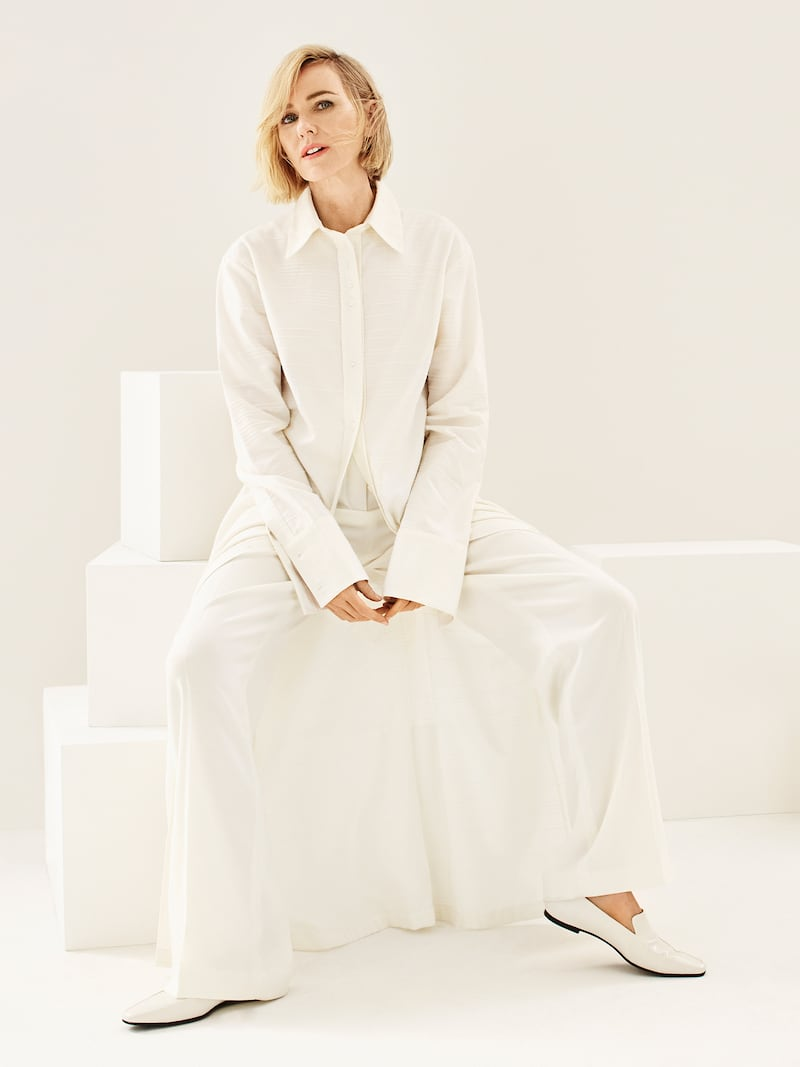 Joseph Satin-Trimmed Crepe De Chine Straight-Leg Pants