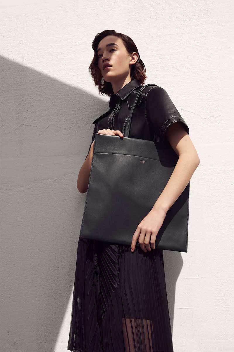 Le Luco Leather Totem Tote Bag