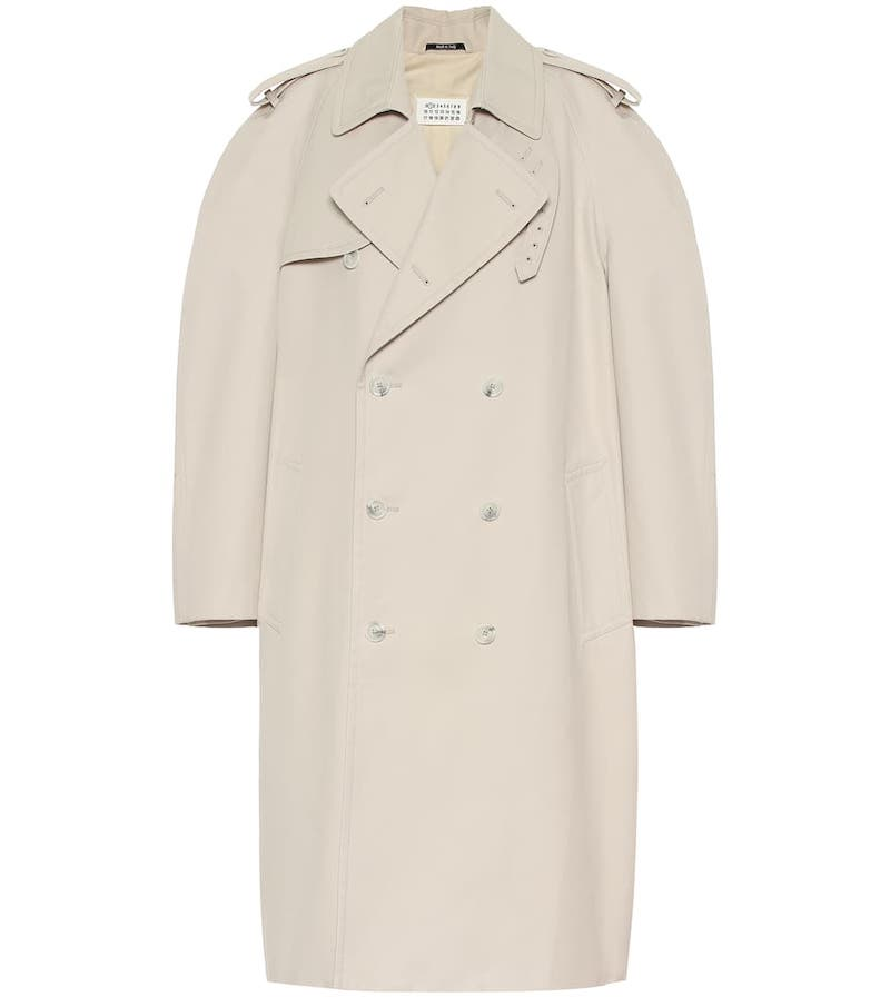 Maison Margiela Cotton-Blend Coat 1