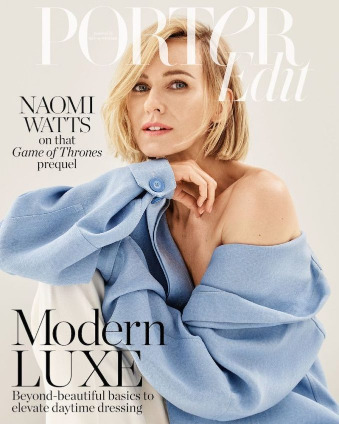 No Surrender: Naomi Watts for The EDIT