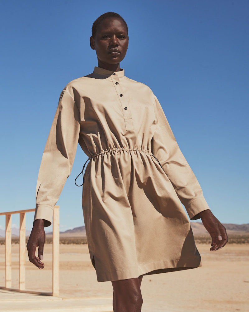 THE ROW Uri Cotton Utility Shirtdress