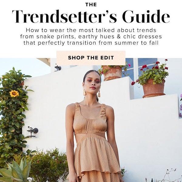 The Trendsetter's Guide Pre-Fall 2019