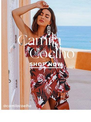 Camila Coelho. Shop Now.