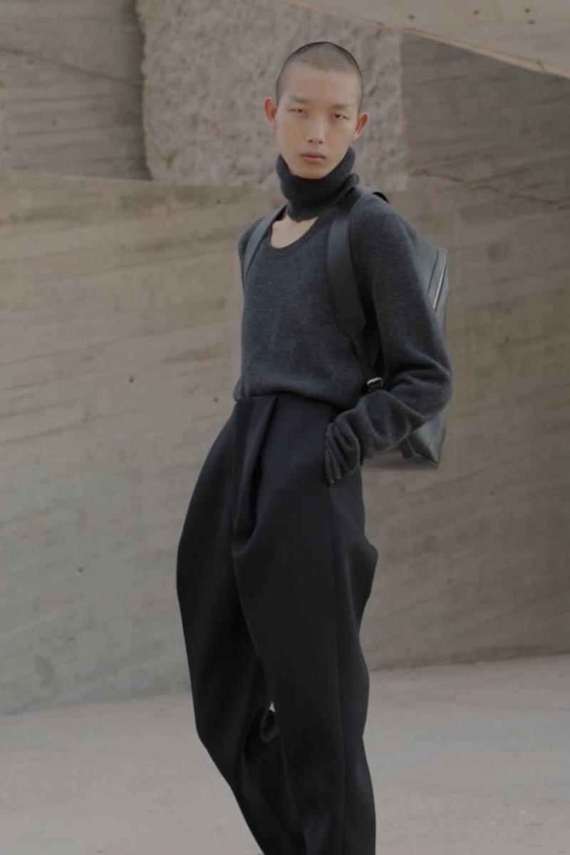 Bottega Veneta Cut-Out Roll-Neck Wool-Blend Sweater