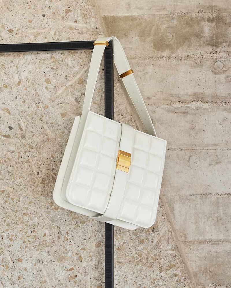 Bottega Veneta Padded Marie Leather Tote Bag