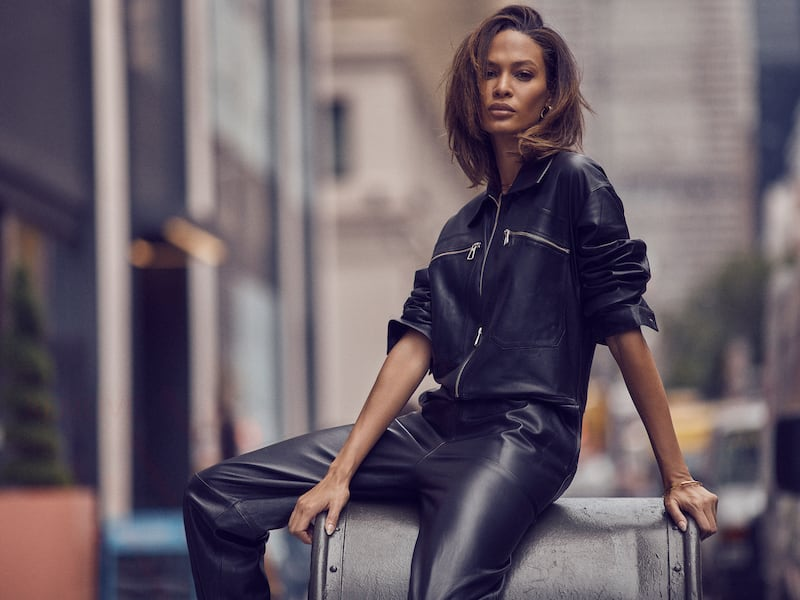 Dodo Bar Or Barbara Belted Leather Jumpsuit
