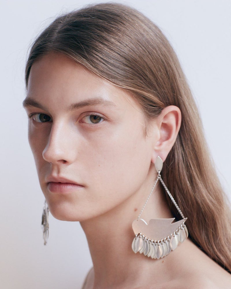 Isabel Marant Triangle Fringed Earrings