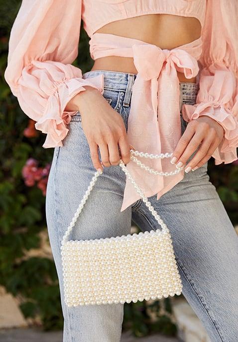 Lovers + Friends Elizabeth Pearl Bag