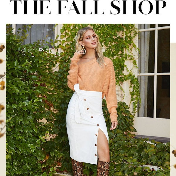 REVOLVE FASHION EDIT The Fall Shop 2019