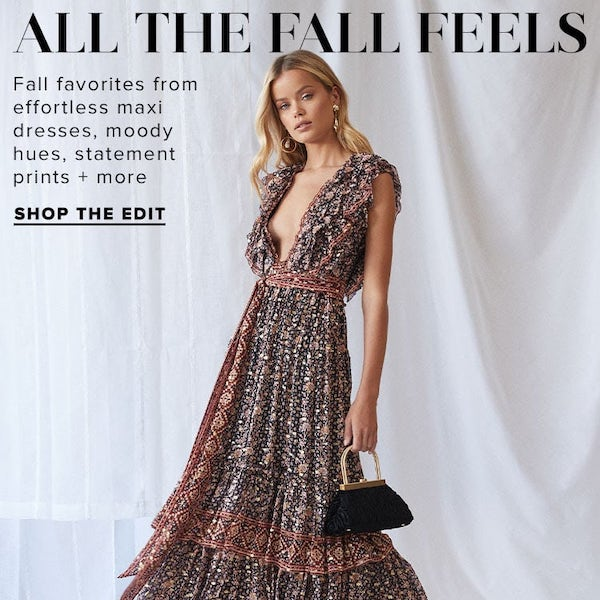 REVOLVE Fashion Edit // All the Fall Feels 2019