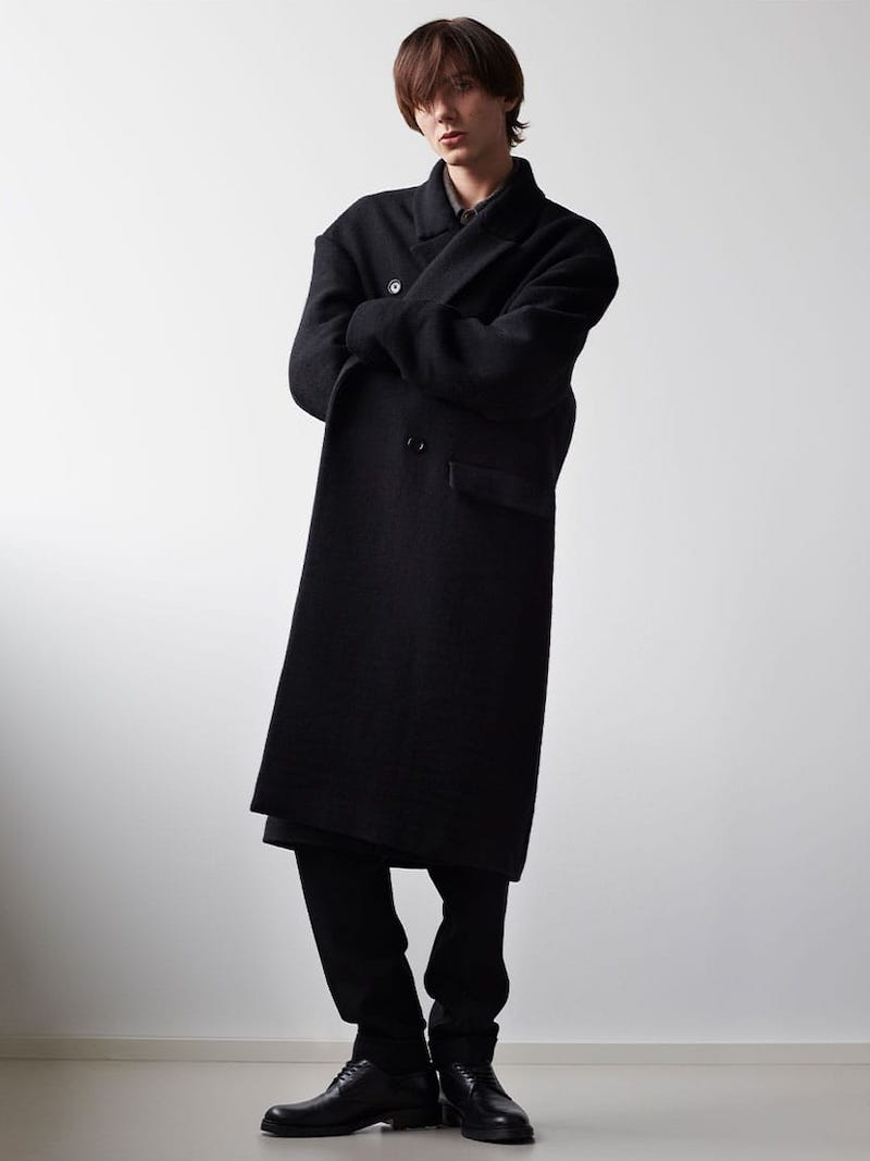 Raey Dropped-Shoulder Wool Coat