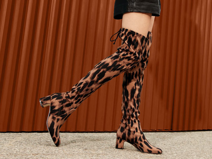 Stuart Weitzman Kirstie Leopard Over-the-Knee Boots 1