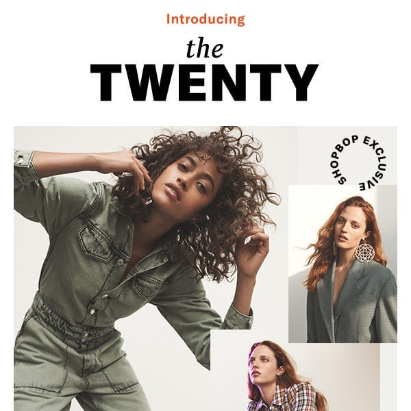 THE TWENTY: SHOPBOP 20th Anniversary Capsule Collection
