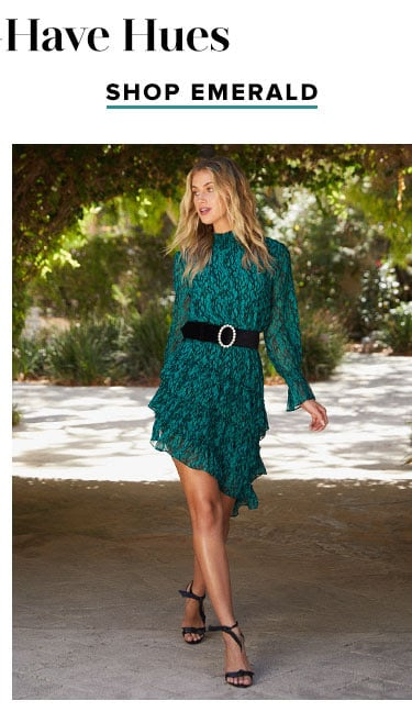 Fall's Must-Have Hues: Shop Emerald