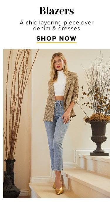 The Fall Shop: Shop Blazers