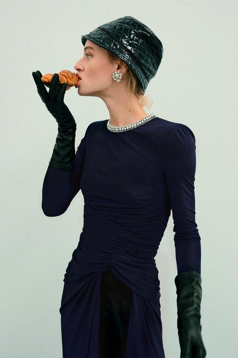 Alexander McQueen Long Embellished Viscose Jersey Dress